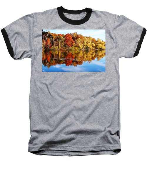 Autumn At Horn Pond Baseball T-Shirt by Joe Faherty