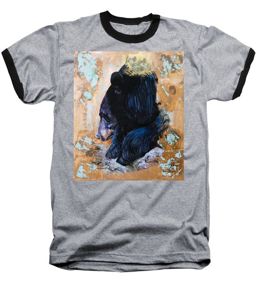 Autumn Bear Baseball T-Shirt