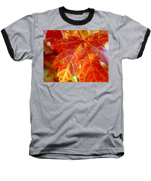 Autumn Blaze Baseball T-Shirt