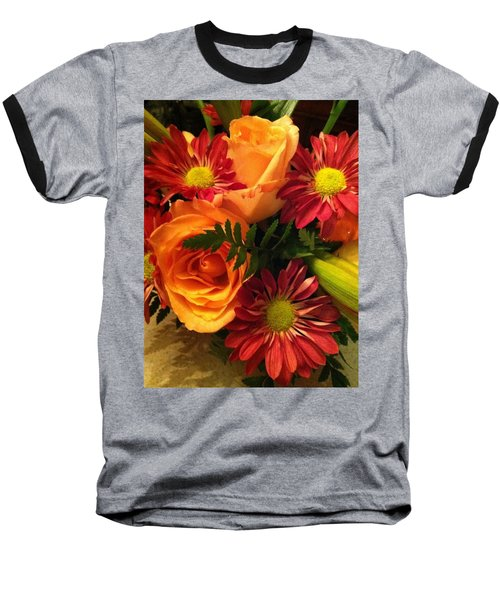 Autumn Bouquet Baseball T-Shirt