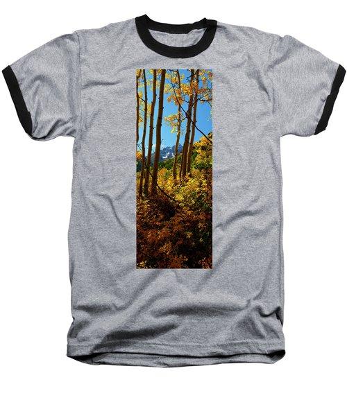 Autumn Brilliance 2 Baseball T-Shirt by Jeremy Rhoades