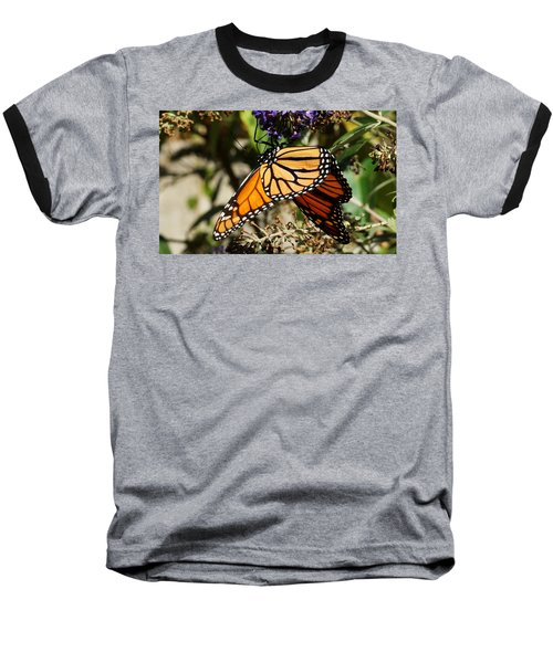 Autumn Butterfly Baseball T-Shirt
