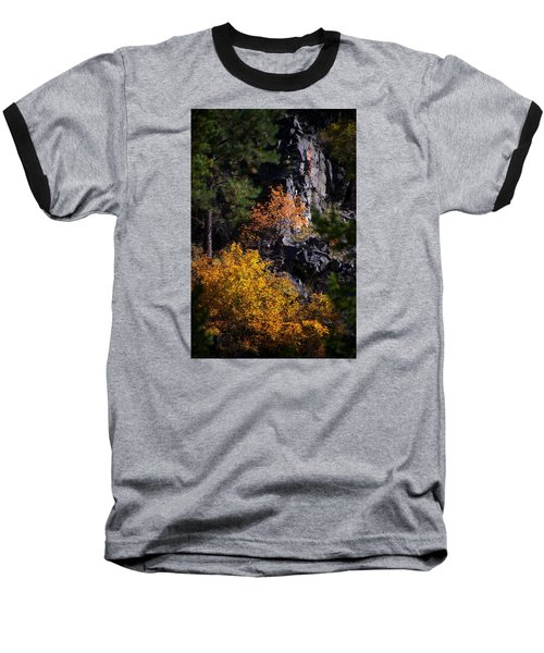 Baseball T-Shirt featuring the photograph Autumn Colors 2 by Newel Hunter