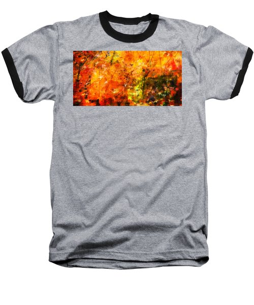 Nature Baseball T-Shirt featuring the photograph Autumn Colors by Aaron Berg