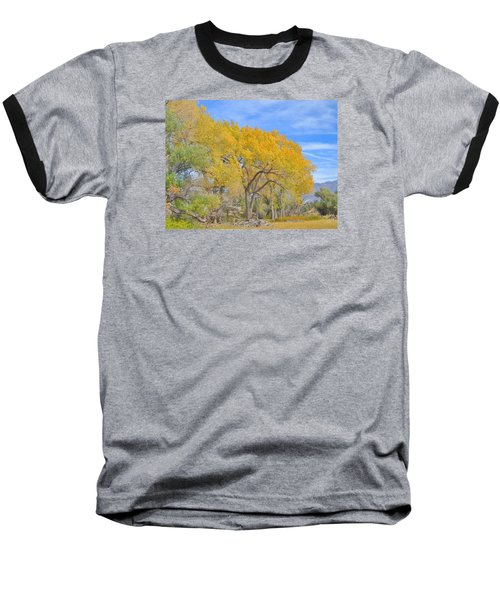 Baseball T-Shirt featuring the photograph Autumn Colors by Marilyn Diaz