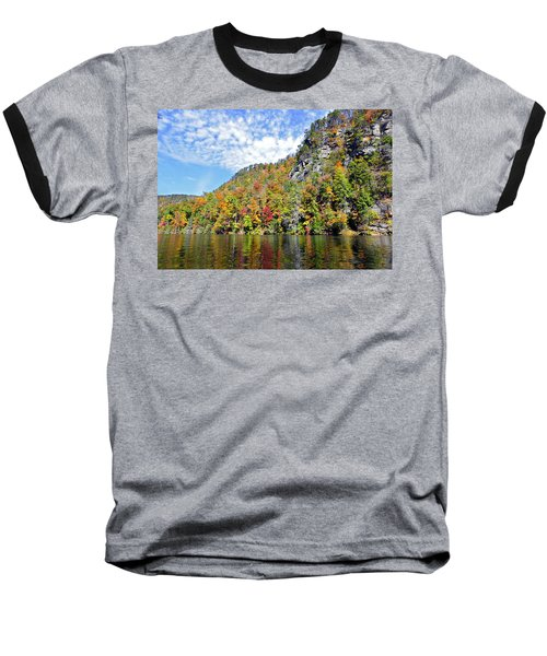 Autumn Colors On A Lake Baseball T-Shirt