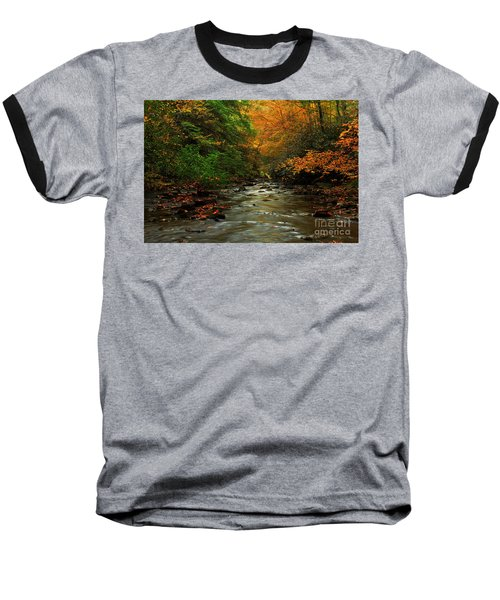 Autumn Creek Baseball T-Shirt by Melissa Petrey