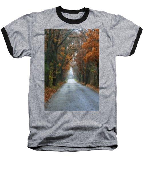 Autumn Drive Baseball T-Shirt