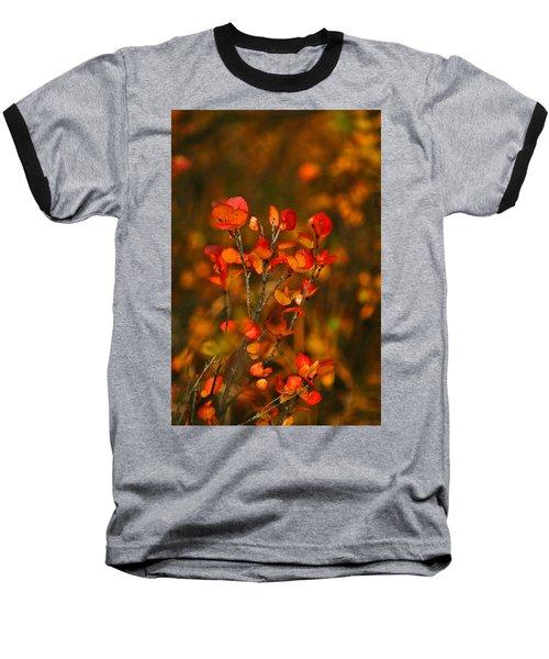 Baseball T-Shirt featuring the photograph Autumn Emblem by Jeremy Rhoades