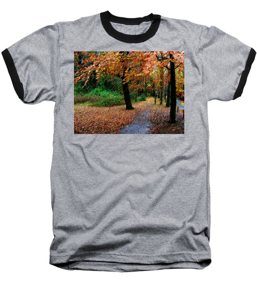 Autumn Entrance To Muckross House Killarney Baseball T-Shirt