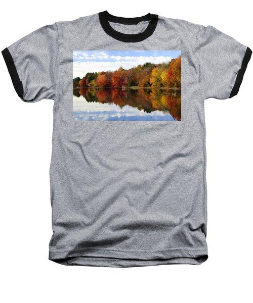 Autumn Explosion Baseball T-Shirt