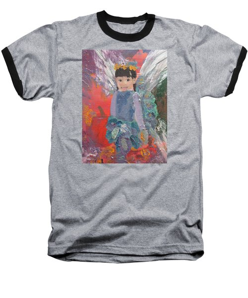 Autumn Fairy Baseball T-Shirt