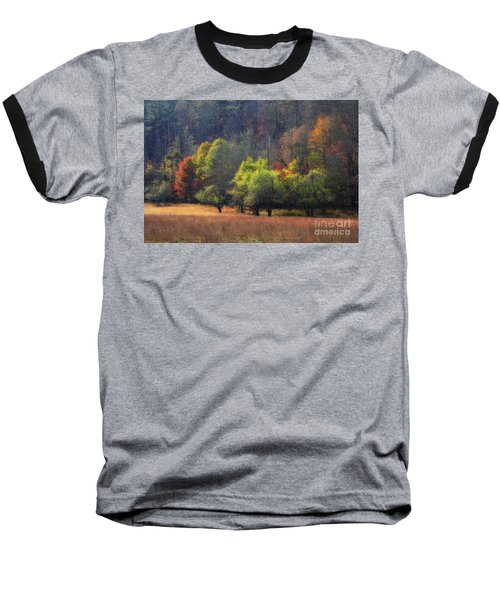 Autumn Field Baseball T-Shirt