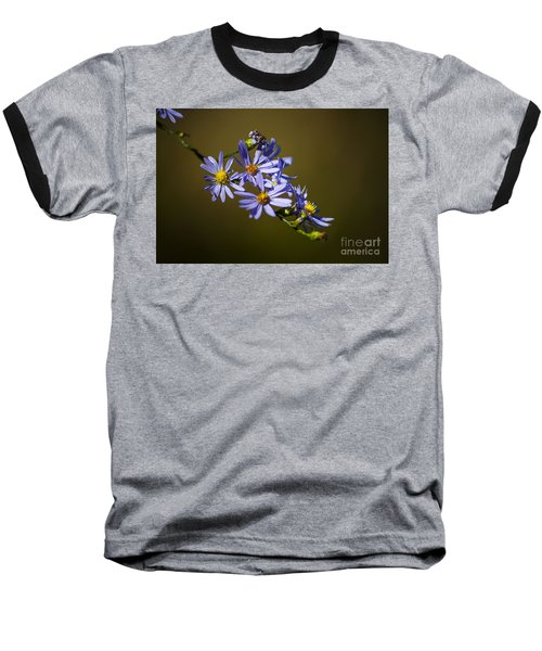 Autumn Floral Baseball T-Shirt