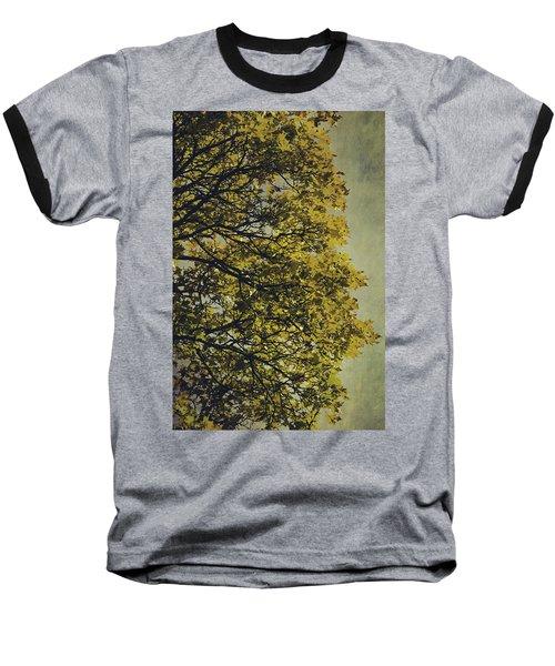 Baseball T-Shirt featuring the photograph Autumn Glory by Ari Salmela