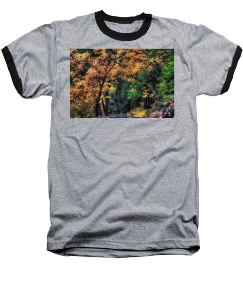 Autumn Glow Baseball T-Shirt