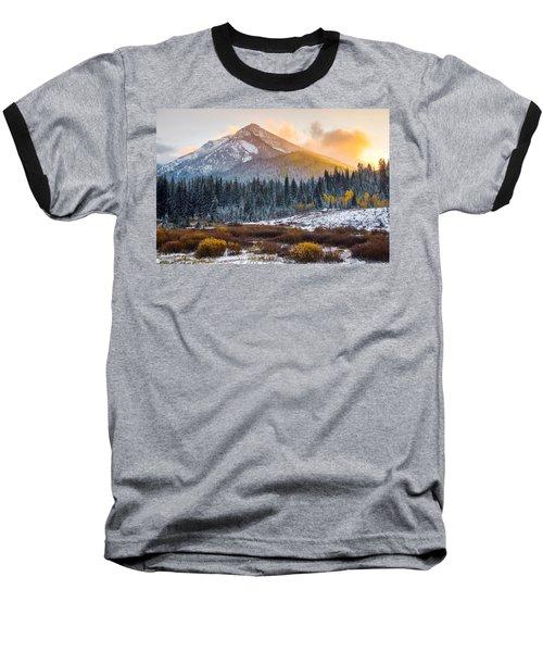 Autumn Glow Baseball T-Shirt