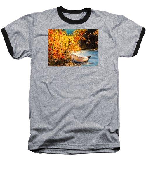 Autumn Gold Baseball T-Shirt