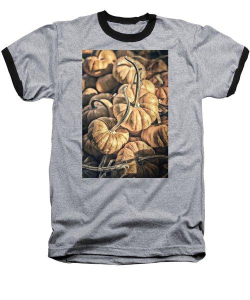 Autumn Grunge Baseball T-Shirt