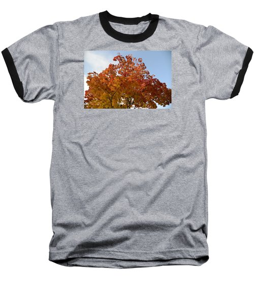 Autumn Harmony 1 Baseball T-Shirt