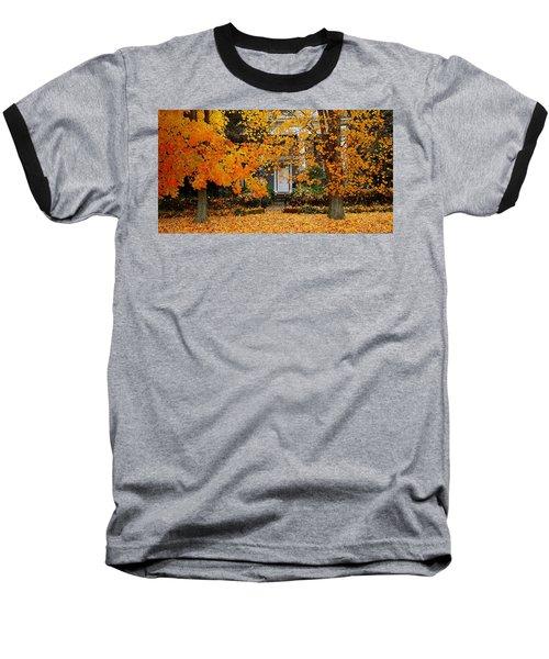 Autumn Homecoming Baseball T-Shirt
