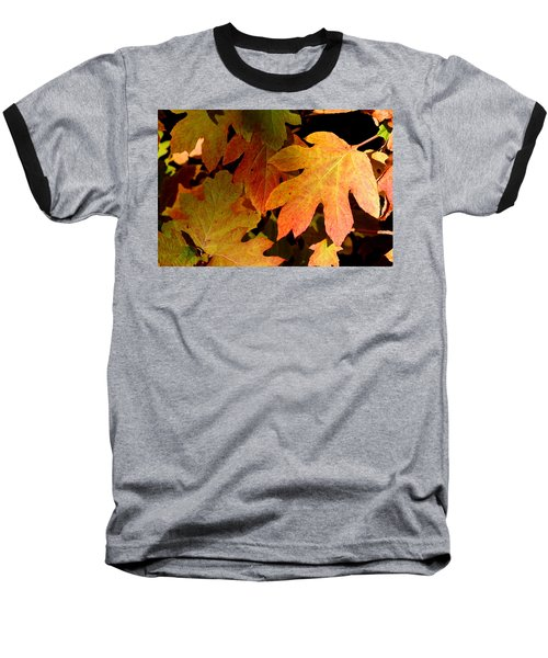 Autumn Hues Baseball T-Shirt