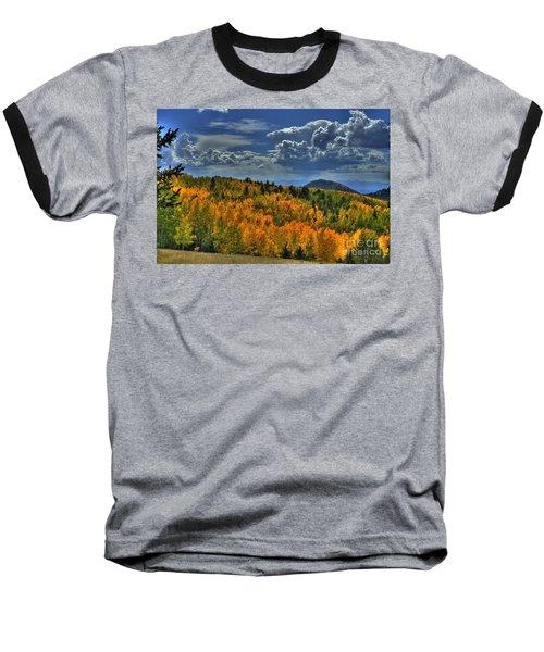 Autumn In Colorado Baseball T-Shirt