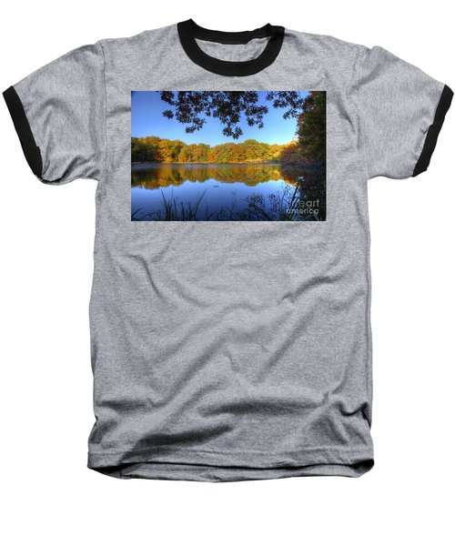 Autumn In Heaven Baseball T-Shirt