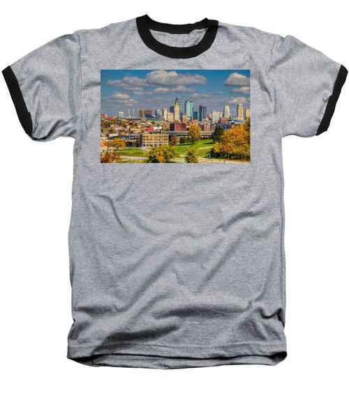 Autumn In Kansas City Baseball T-Shirt