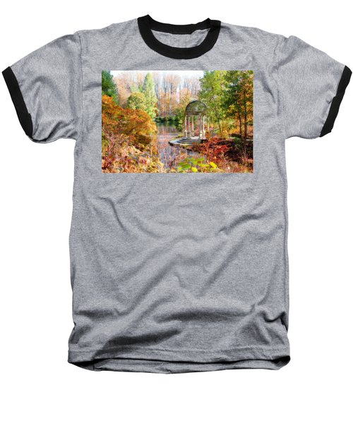 Autumn In Longwood Gardens Baseball T-Shirt