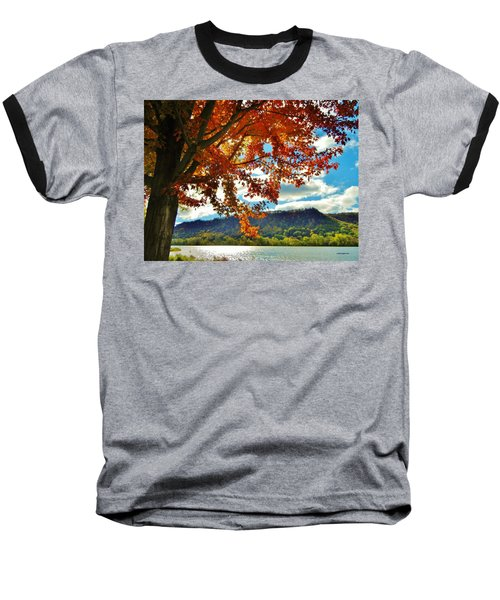 Autumn In Minnesota Baseball T-Shirt