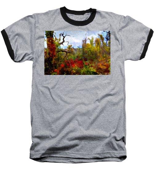 Autumn In New England Baseball T-Shirt