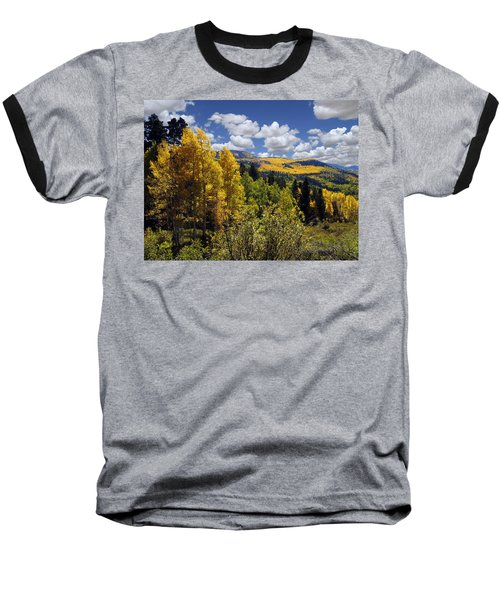 Autumn In New Mexico Baseball T-Shirt