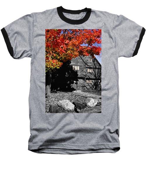 Autumn In Salem Baseball T-Shirt by Jeff Folger