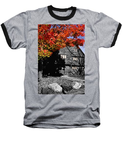Autumn In Salem Baseball T-Shirt