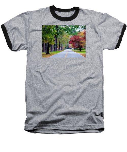 Baseball T-Shirt featuring the photograph Autumn In The Air by Cynthia Guinn