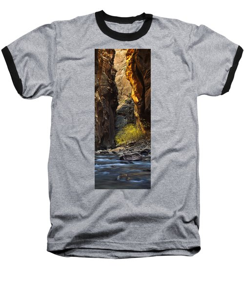 Baseball T-Shirt featuring the photograph Autumn In The Narrows by Andrew Soundarajan