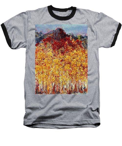 Autumn In The Pioneer Valley Baseball T-Shirt by Regina Valluzzi