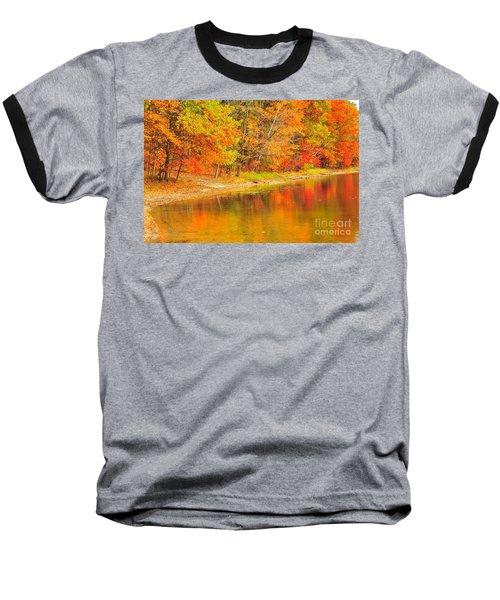 Baseball T-Shirt featuring the photograph Fire Balls by Terri Gostola