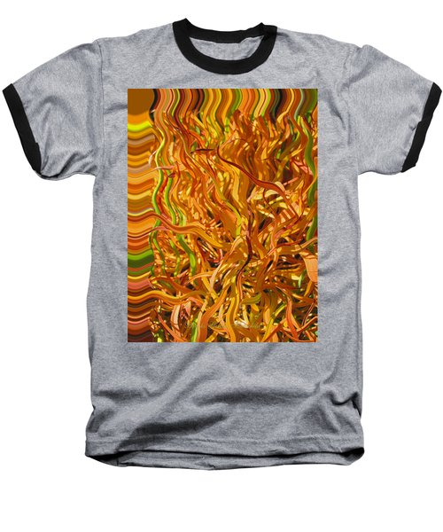 Autumn Leaves 5 - Abstract Photography - Manipulate Images Baseball T-Shirt