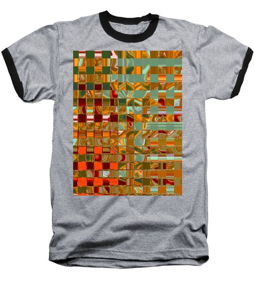 Autumn Leaves 8 - Abstract Images - Manipulated Photograph Baseball T-Shirt