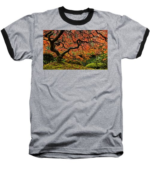 Autumn Magnificence Baseball T-Shirt
