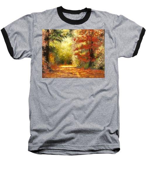 Autumn Memories Baseball T-Shirt