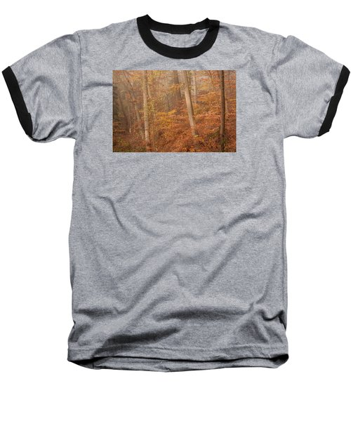Autumn Mist Baseball T-Shirt