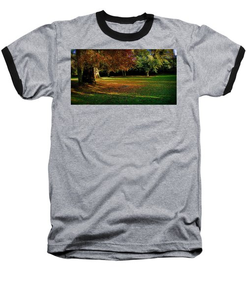 Baseball T-Shirt featuring the photograph Autumn by Nina Ficur Feenan