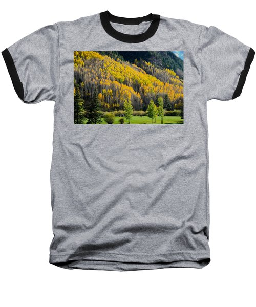 Autumn On The Links Baseball T-Shirt