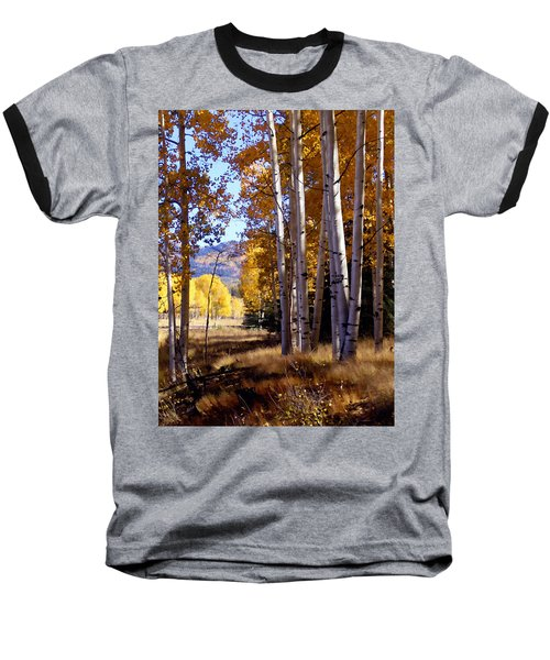 Autumn Paint Chama New Mexico Baseball T-Shirt