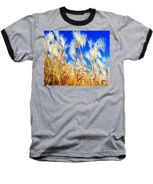 Autumn Pampas Baseball T-Shirt