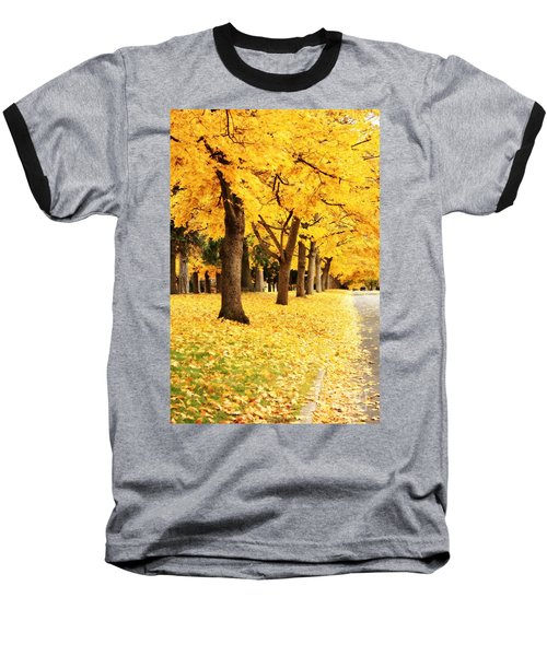 Autumn Perspective Baseball T-Shirt