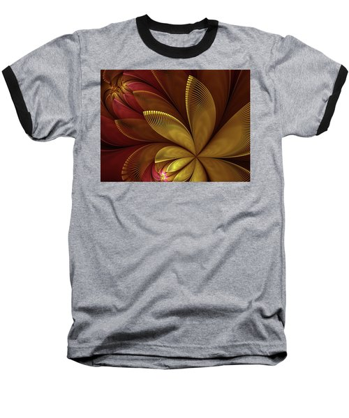 Autumn Plant Baseball T-Shirt